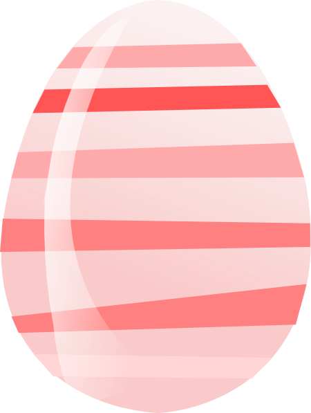 Neon Pink Easter Egg Clipart #. Download this image as: