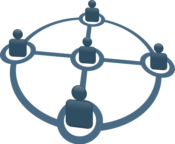 Networking Clipart