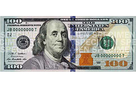New 100 Dollar Bill-New 100 Dollar Bill-8