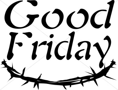 new good friday images black  - Good Friday Clipart