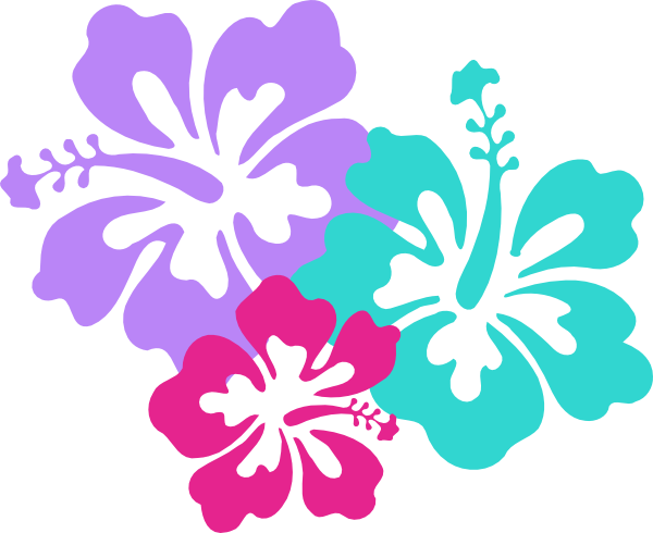 New Lotus Flower Clip Art Vec - Tropical Flower Clipart