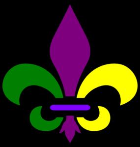 New Orleans Fleur De Lis Clip - New Orleans Clipart