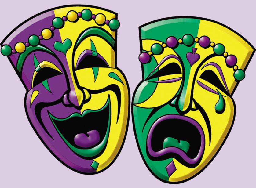 New Orleans Mardi Gras Masks