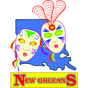 New Orleans Title clipart, cliparts of New Orleans Title free download (wmf, eps, emf, svg, png, gif) formats