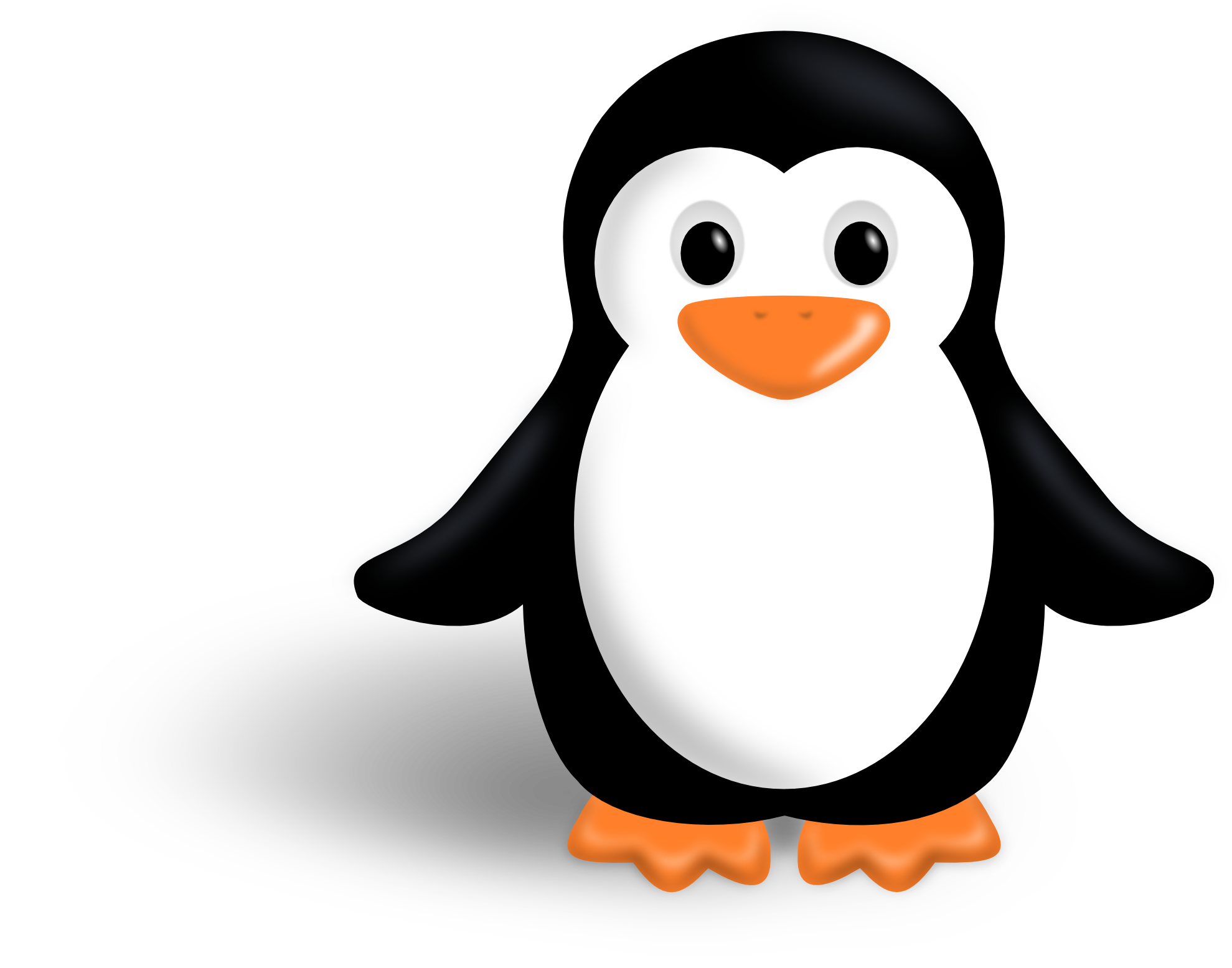 New Ping Penguin Bird Clipart - Clip Art Penguin