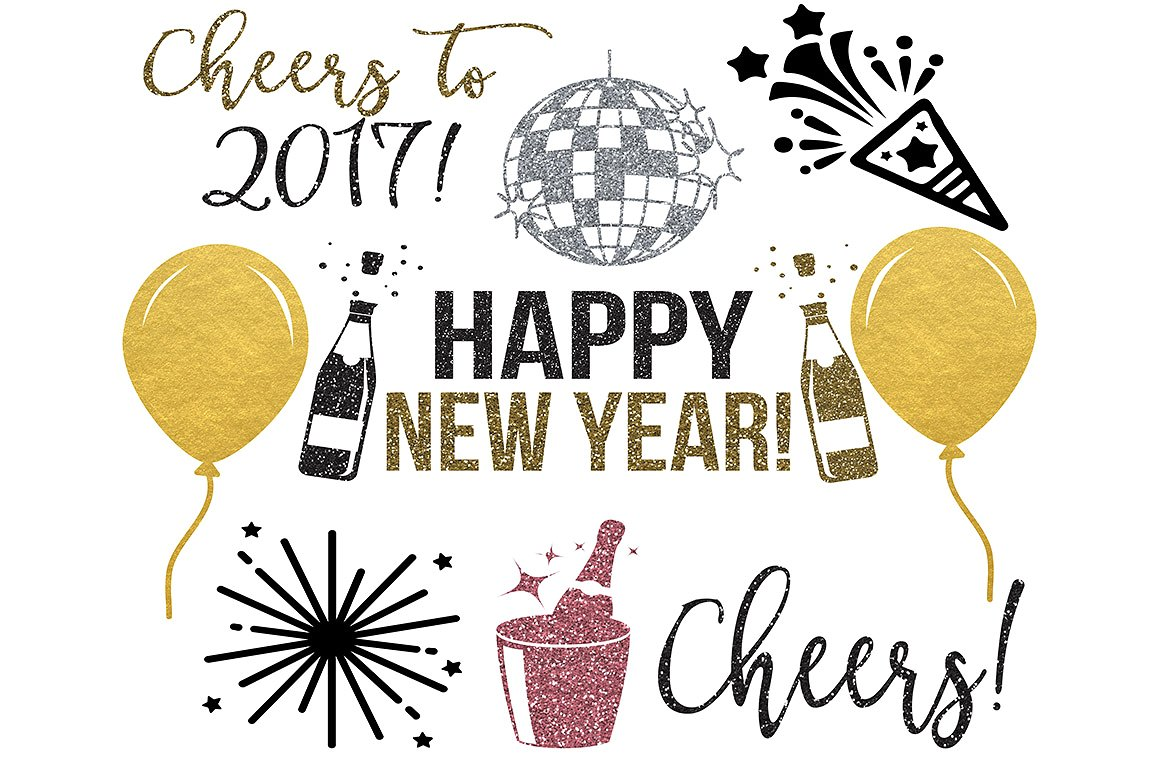 New Year  Clipart-Clipartlook.com-1160