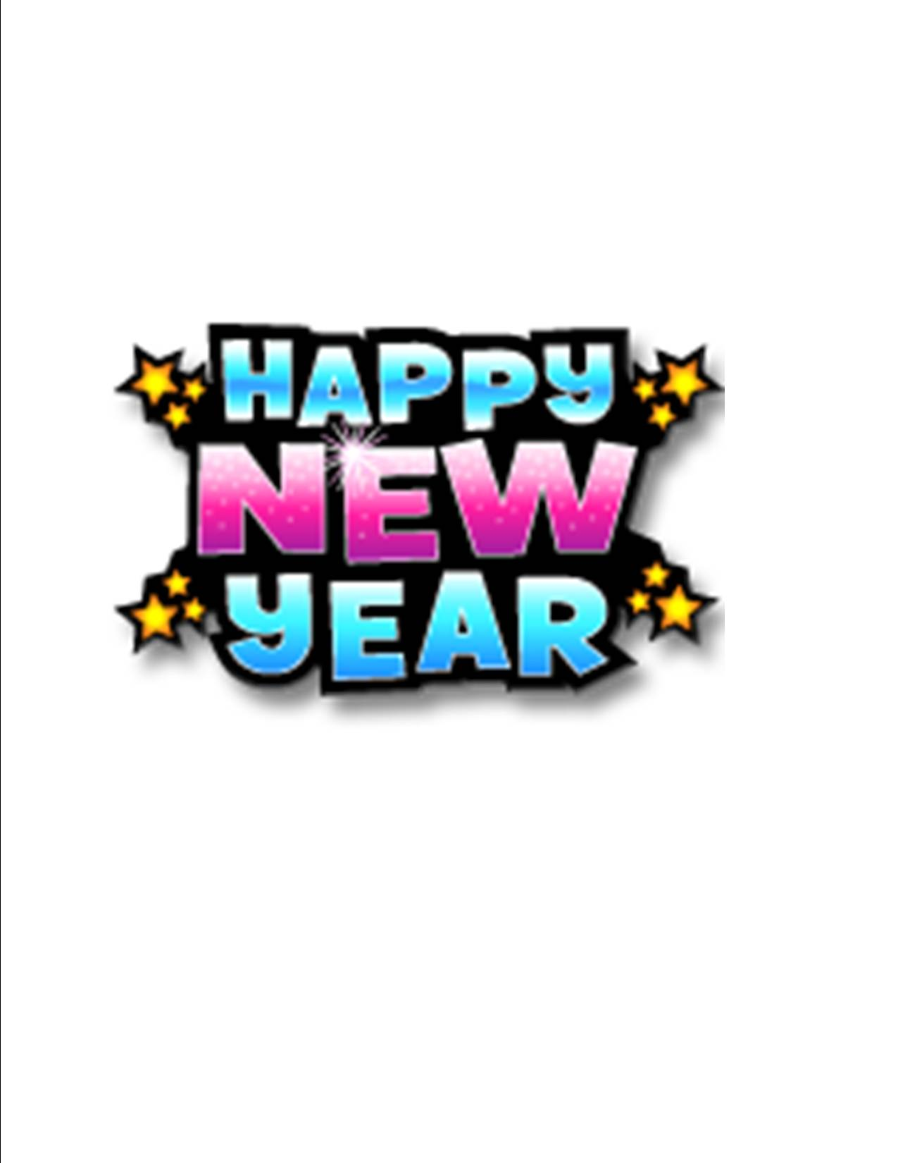 New Year Clipart Clipart Pand - Free New Year Clip Art