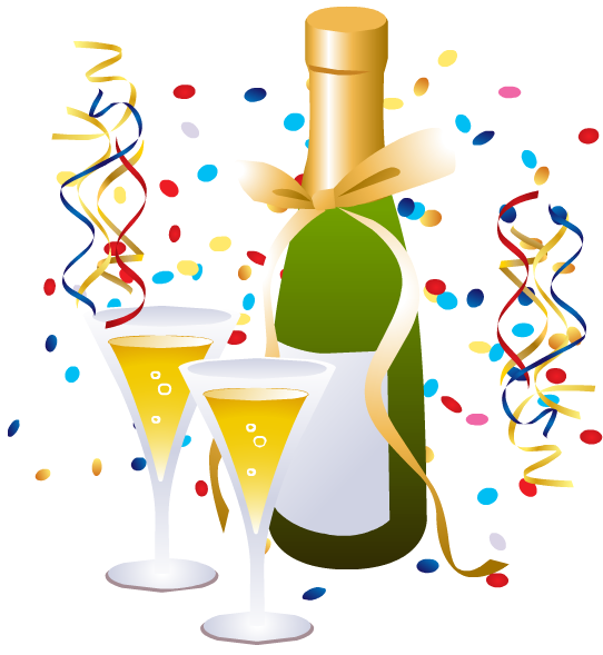 new year clipart - Free New Year Clip Art