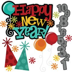 New years on happy new year new years ev-New years on happy new year new years eve party and clip art-17
