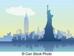 ... New York City - An Illustration Of N-... New York City - An illustration of New York City skyline-2