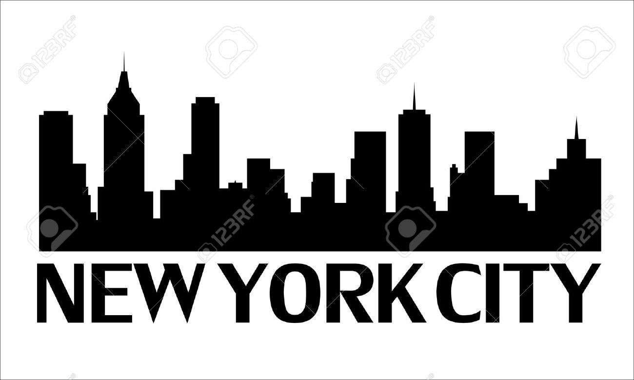 New York City Clipart Black And White - -New York City Clipart Black And White - ClipArt Best-3