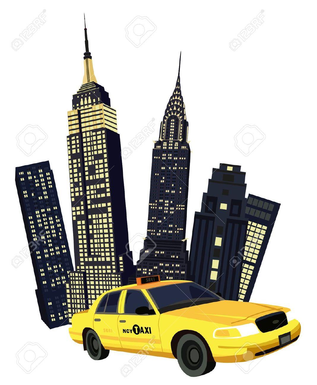 new york city: Illustration .