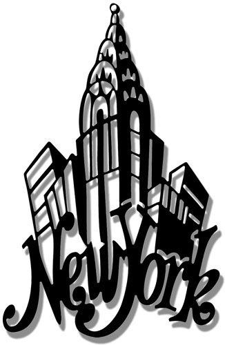 New York City Silhouette Clip Art Pictures