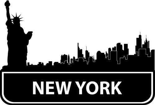New York City Skyline Clip Ar - New York Clip Art