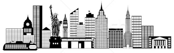 New York City Skyline Clipart Free - Cli-New york city skyline clipart free - ClipartFest-13