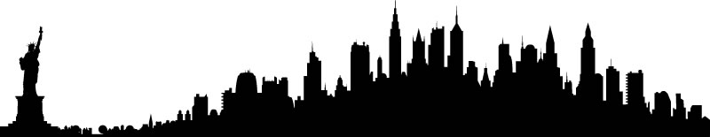 New York City Skyline - Clipart Library-New York City Skyline - Clipart library-14