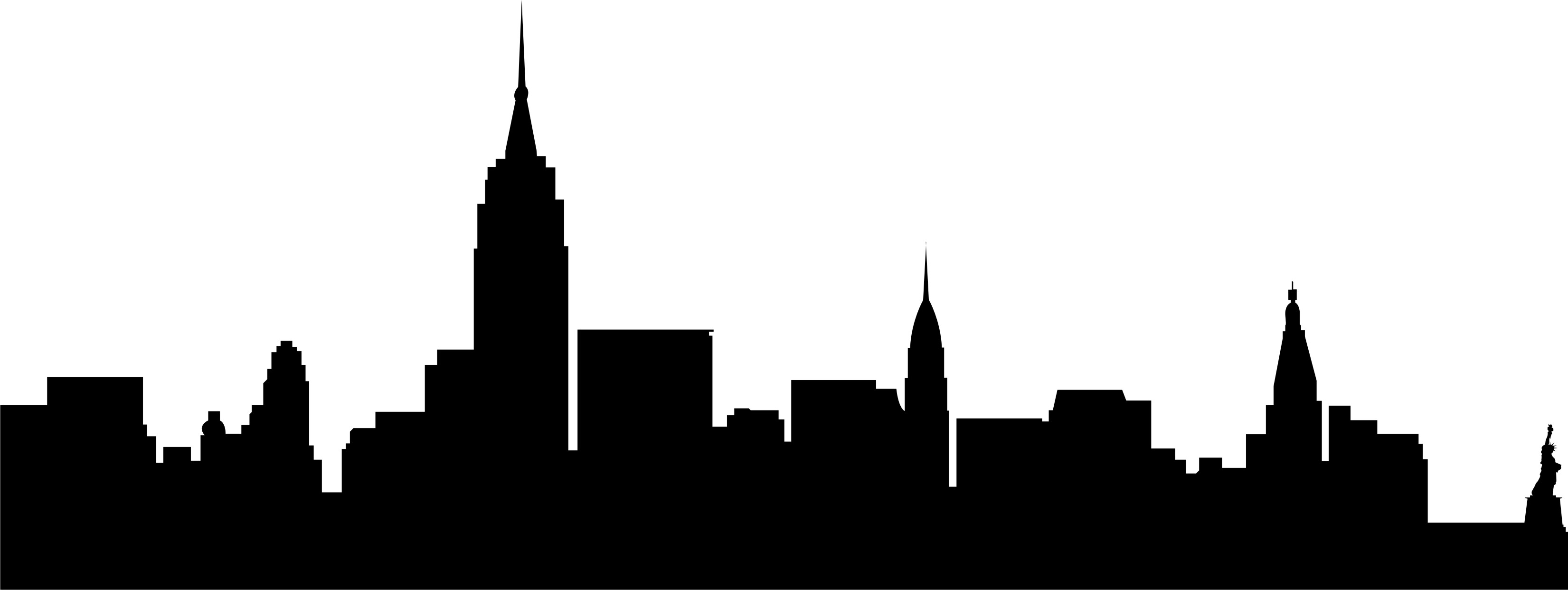 New york skyline, City .