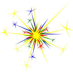 Newnhamm Multicolored Sparkle clip art-Newnhamm Multicolored Sparkle clip art-8
