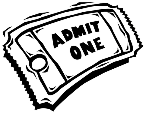 News. Blank Movie Ticket Clipart ...