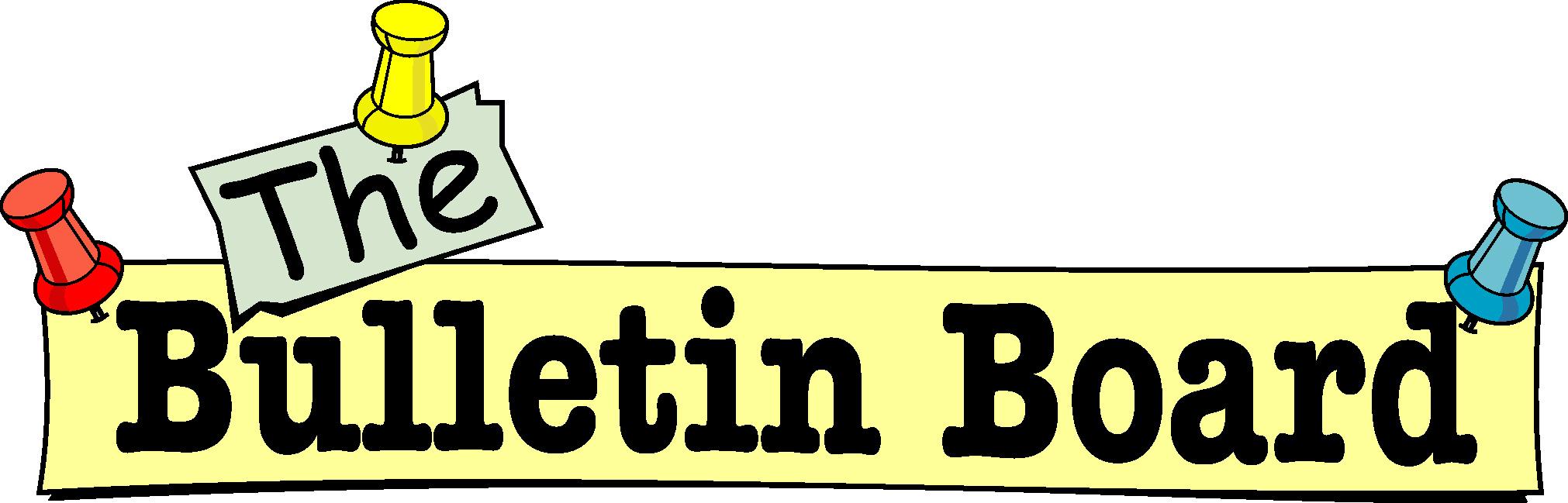 news bulletin clipart - Bulletin Board Clipart