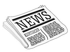 newspaper clipart - Clip Art Newspaper