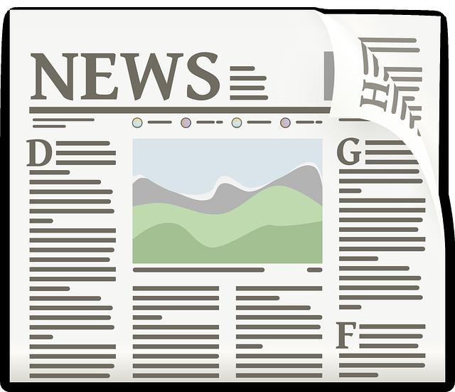newspaper clipart - Newspaper Clip