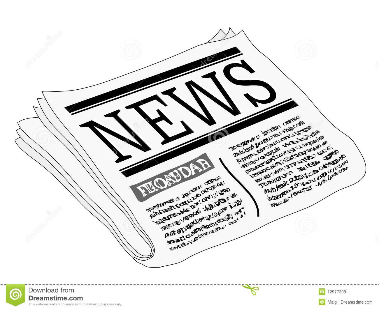 Newspaper Clipart-newspaper clipart-9
