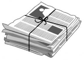 Newspaper Clip Art Background