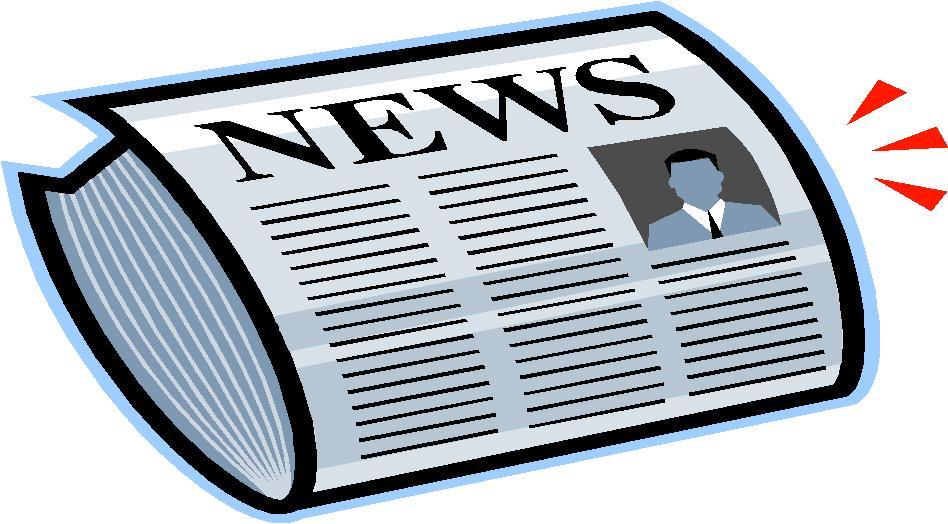 Newspaper Clip Art News Clipart Jpg
