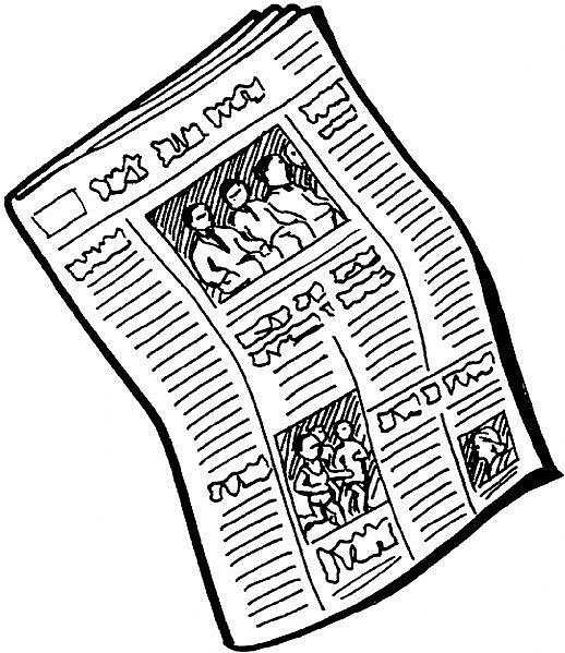 Newspaper Clip Art - Newspaper Clip Art