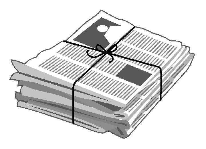 Newspaper Clip Art-Newspaper Clip Art-13
