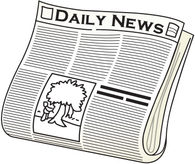 Newspaper clipart 6 - Newspaper Clip Art