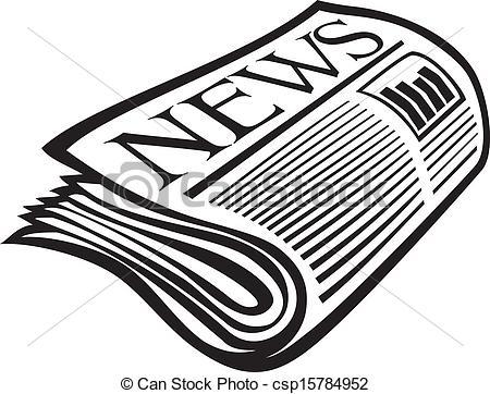 Vector Newspaper Icon-Vector Newspaper Icon-9