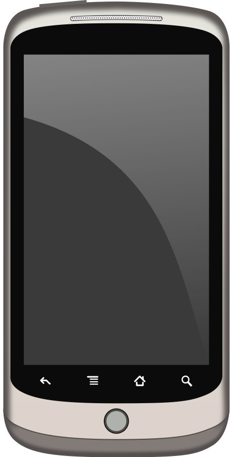 Nexus Phone Medium 600pixel Clipart, Vec-Nexus Phone medium 600pixel clipart, vector clip art. Hand With Smartphone Clipart-8