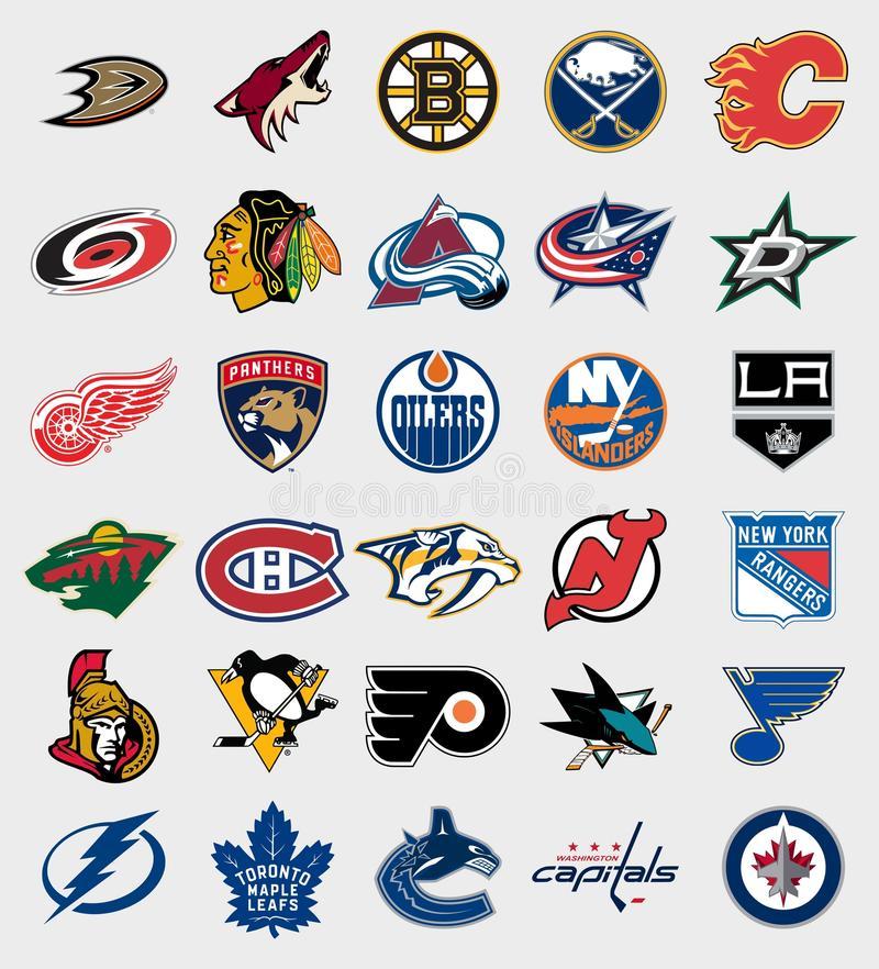 Download NHL teams logos editorial photo-Download NHL teams logos editorial photography. Image of boston - 79359962-11