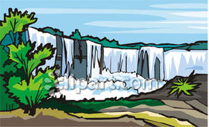 Niagara Falls. Free Clipart Picture