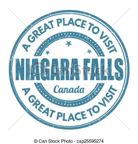 ... Niagara Falls stamp - Niagara Falls -... Niagara Falls stamp - Niagara Falls grunge rubber stamp on.-10