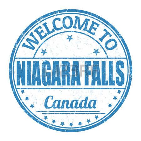 niagara falls: Welcome to Niagara Falls -niagara falls: Welcome to Niagara Falls grunge rubber stamp on white  background, vector illustration-9