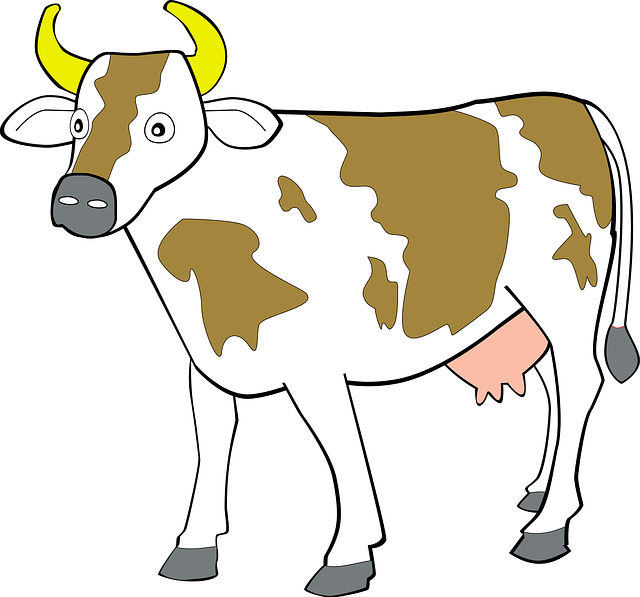 Nice Cow Clip Art For Use .-nice cow clip art for use .-17