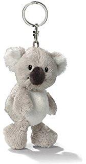 NICI Koala Bean Bag Key Holder 4u0026quot;
