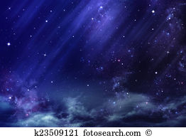 night sky, background