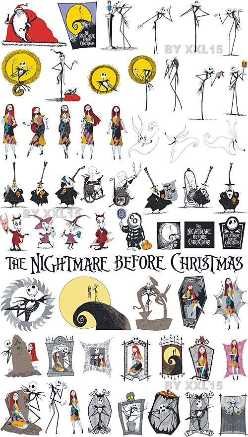 Nightmare Before Christmas .