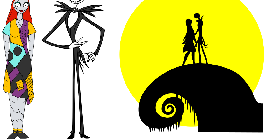 Nightmare Before Christmas . - Nightmare Before Christmas Clip Art