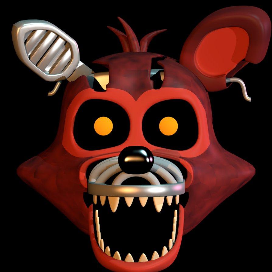 Adventure Nightmare Foxy by EndyArts ClipartLook.com