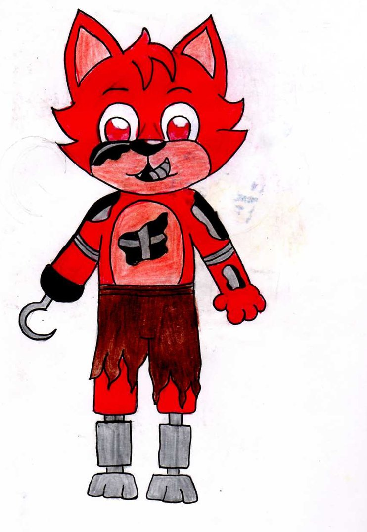 Nightmare Foxy by LudwigVonKoopalover Cl-Nightmare Foxy by LudwigVonKoopalover ClipartLook.com -18