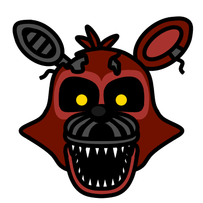 Nightmare Foxy ( by What-The-Frog ) by Cztvproductions ClipartLook.com