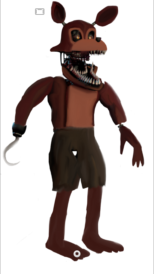 Unwithered Nightmare Foxy by Penfamer201-Unwithered Nightmare Foxy by Penfamer2015 ClipartLook.com -1
