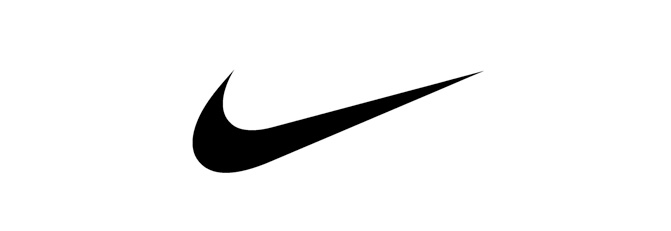 creative nike logo, Nike, Log