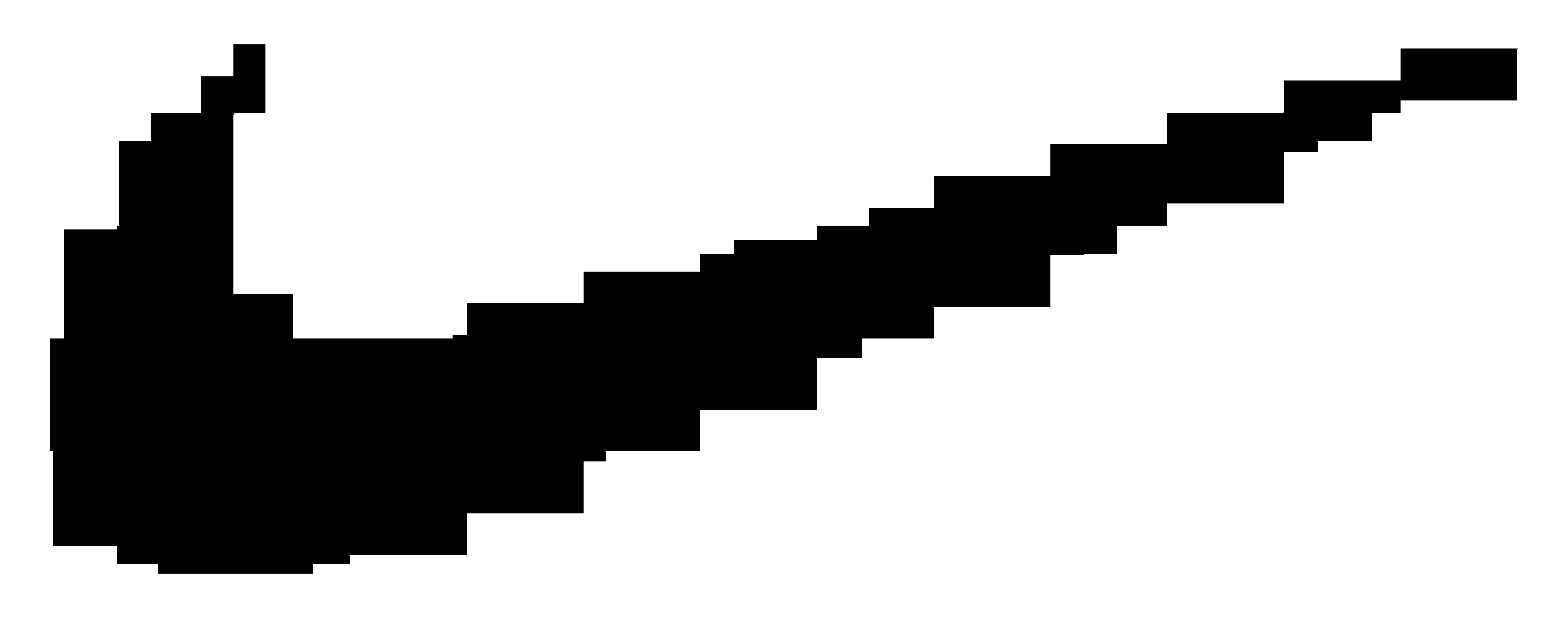Nike transparent. Logo clipart clipartlook