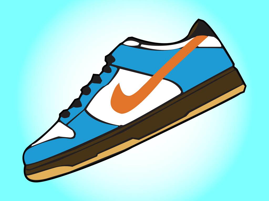 Nike Running Shoes Clipart Clipart Panda-Nike Running Shoes Clipart Clipart Panda Free Clipart Images-5